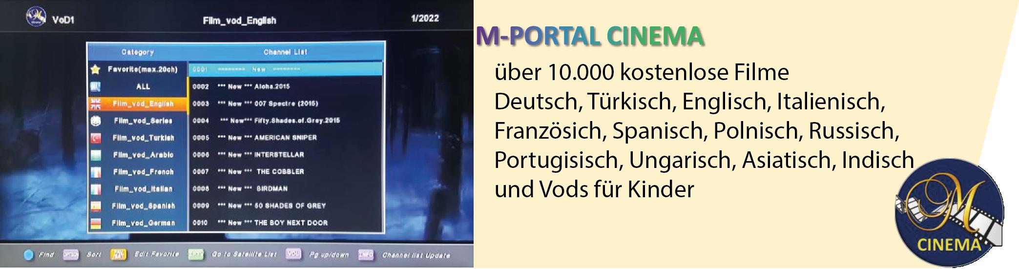 cinema mit medialink