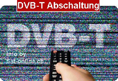 DVB-T Abschaltung Schweiz