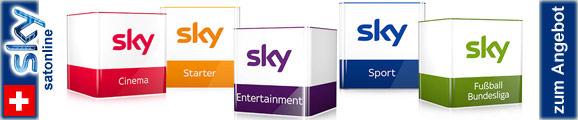 Sky Deutschland jetzt mit 3 Monaten GRATIS bei Satonline abonnieren