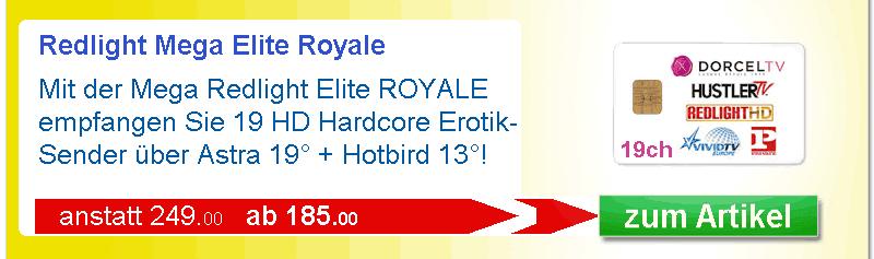 Erotikkarte Redlight Meag Elite Royale