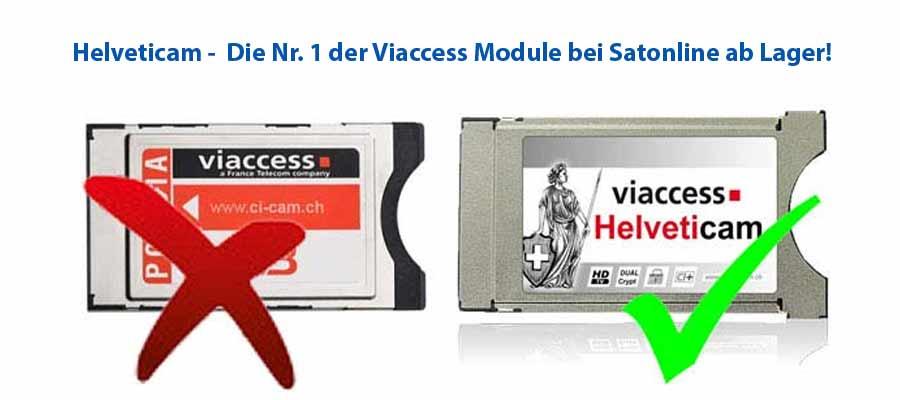 Helveticam Viaccess HD Modul für SRG Karte