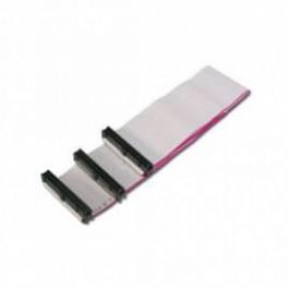 Floppy Kabel 2x IDC34 0.75m grau