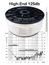 Sat Kabel 100Meter Koax Rolle SK6 125dB