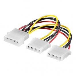 Kabel ATX Y-Kabel 5.25ST -> 2x 5.25BU