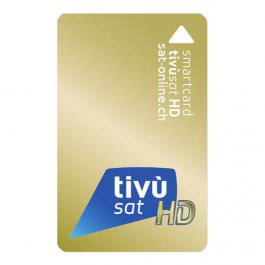 Sat Pay-TV Tivusat Smartcard HD Gold