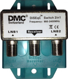Sat DiSEqC 2/1 DMC 2LNB->1Rec. Dis. 2.0