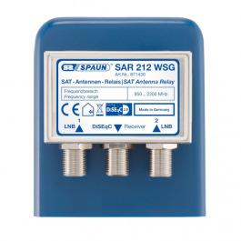 Sat DiSEqC 2/1 Spaun SAR 212 WSG