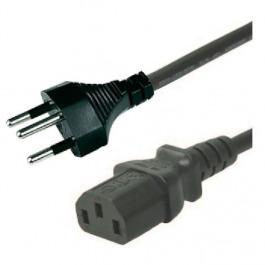 Kabel Gerätekabel 2m 3-Pol Schwarz PC
