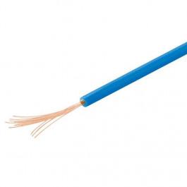 Kabel Kupferlitze isoliert 10M blau