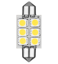LED Festoon 12V 37mm 96Lumen!