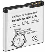 Akku zu Nokia 5700, 8600 BP-5M 700m Li