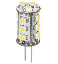 LED Leuchtmittel G4 rund kaltweiss 105Lm