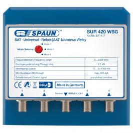 Sat DiSEqC 4/1 Spaun SUR 420 WSG