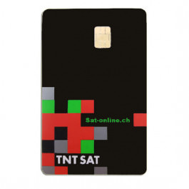 Sat Pay-TV TNT France Carte 4 ans