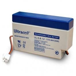 Blei-Akku Ultracell UL 0.8-12 JST Stecke