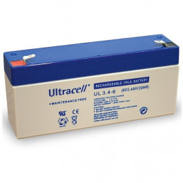 Blei-Akku Ultracell UL 3.4-6