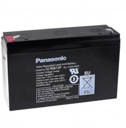 Blei-Akku Panasonic LC-R0612P