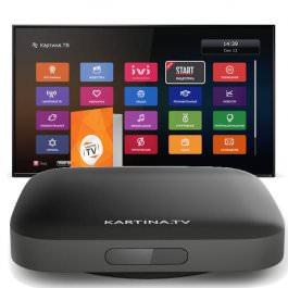 IPTV Kartina TV IP Box Quattro + 12Monat
