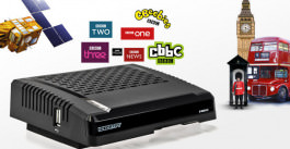 Sat Receiver Icecrypt S 1600 HD BBC UK