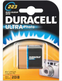 Batterie 1Stk. Duracell Lithium DL 223
