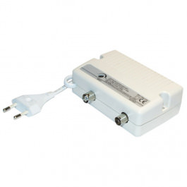 Cable Aktiv Verstärker 1x 25dB Regulierb
