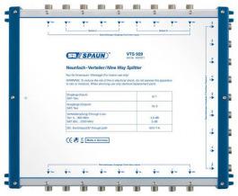 Sat Multischalter Spaun Vert. VTS 929