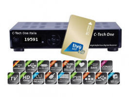 Clarke-Tech C-Tech ONE SAT HD Italia