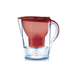 Brita Tisch Wasserfilter Marella rot