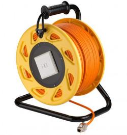 Netzwerk Kabelrolle CAT 7A Mobil 50Meter