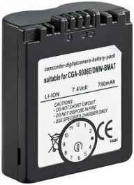 Akku zu Cam Panasonic DMW-BMA7 600 mAh