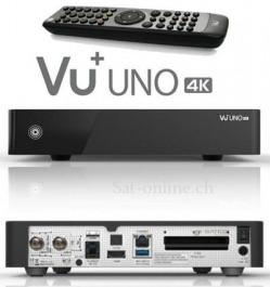 Récépteur satellite VU+  UNO UHD / 4K