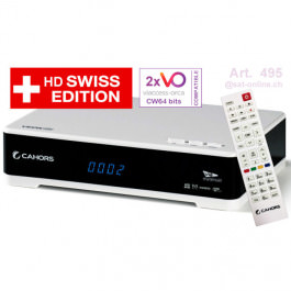 Cahors HD Swiss mit 2x Viaccess