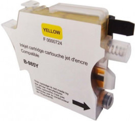 Tinte color Brother LC 985 Y YELLOW
