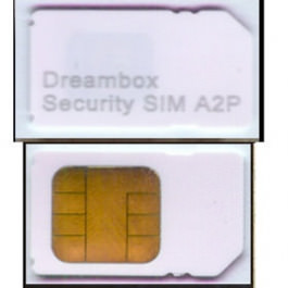 Dreambox A2P Sim Karte
