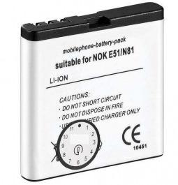 Akku zu Nokia E51, 6720 (BP-6MT)