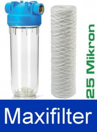 """Wasserfilter Maxifilter 25um 3/4"""""""
