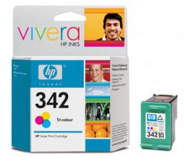 Tinte color HP original C9361EE 342 CMY