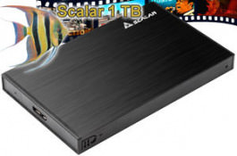 "HD Ext. 2.5"" Scalar Videodisk 1000 GB"