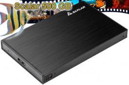 "HD Ext. 2.5"" Scalar Videodisk 500 GB"