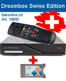 Sat Receiver Dreambox DM 525 Swiss Via