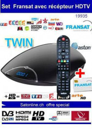 Sat Pay-TV Fransat+ Aston Maya TWIN HD