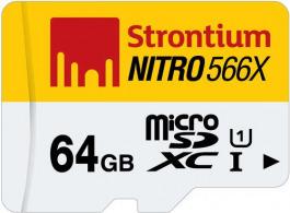 NITRO microSD Flash Card 64 GB