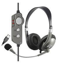 Audio Headset Wintec WH45 USB Anschluss