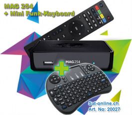 MAG 254 Box avec wireless clavier