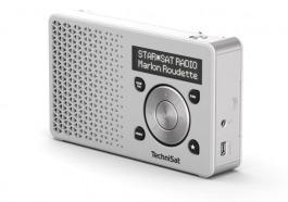 DAB+ Technisat DigitRadio 1 weiss/silber