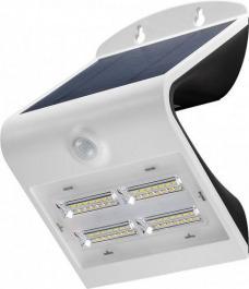 LED Solar Wandleuchte 6.8 W Weiss