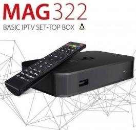 MAG 322 - boîte IPTV MAG322 Box