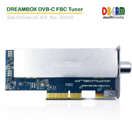 Dreambox DVB-C FBC Tuner
