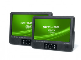 Muse M-990 CVB Portable DVD Player Twin