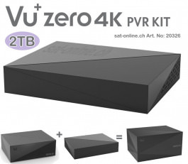 VU + zero 4K PVR Kit 2 To - 2 terrabyte